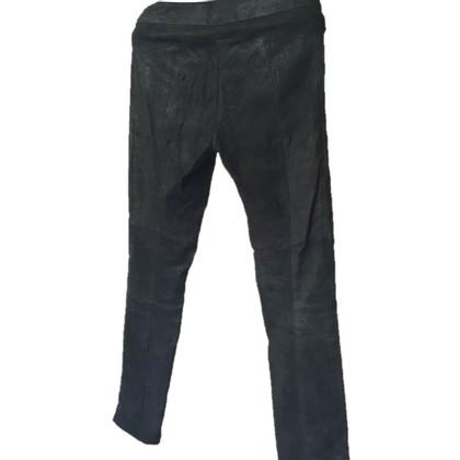 Patrizia Pepe Pantaloni in pelle nera