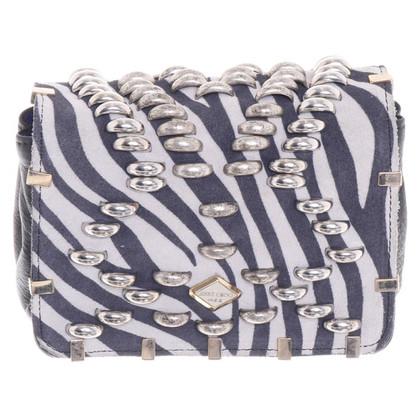 Jimmy Choo for H&M Schoudertas in zebra-look