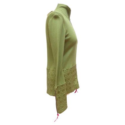 Christian Dior Cardigan with silk detail
