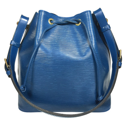 "Louis Vuitton ""Petit Noé Epi leather"" in blue"