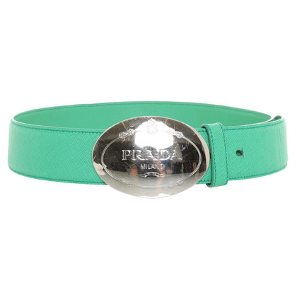 Prada Belt in green
