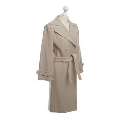 Dolce & Gabbana Nudefarbener coat with belt