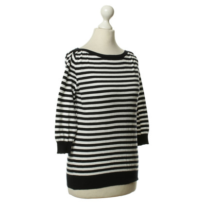 Dolce & Gabbana Knitted jumper with horizontal stripes