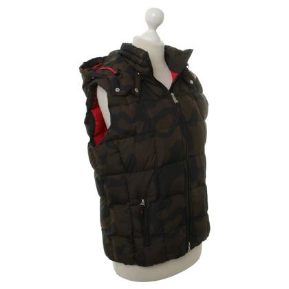 Bogner Vest met camouflage patronen