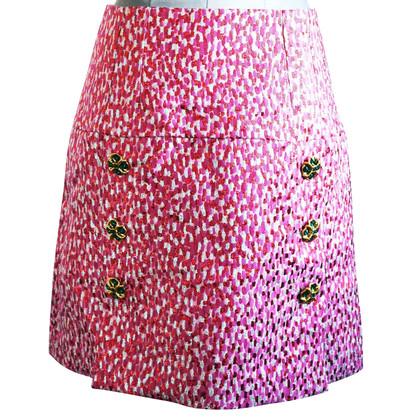 Dolce & Gabbana Jeweled A-Line Skirt