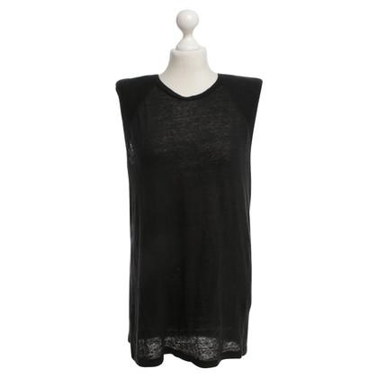 Iro Sporty shirt in black