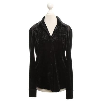 Versace Camicetta di velluto