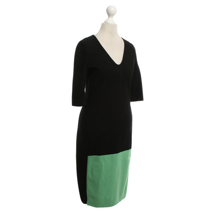 Diane von Furstenberg Holder-Dress with Color-Blocking