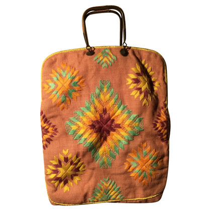 Antik Batik Tote Bag van jute