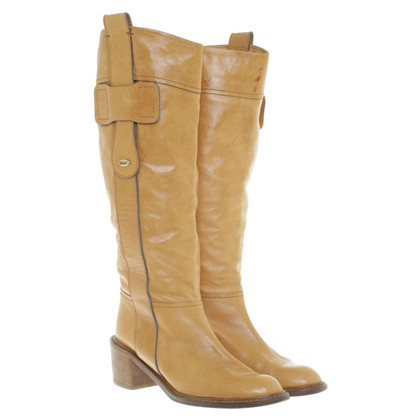Chloé Boot in Cognac