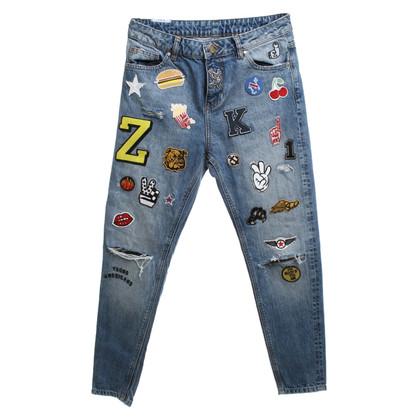 Zoe Karssen Jeans avec des taches