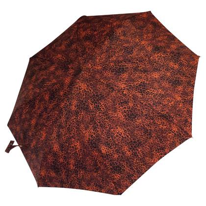 Burberry Schirm mit Leopardenmuster