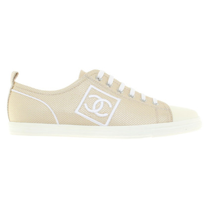 Chanel Gold colored sneakers
