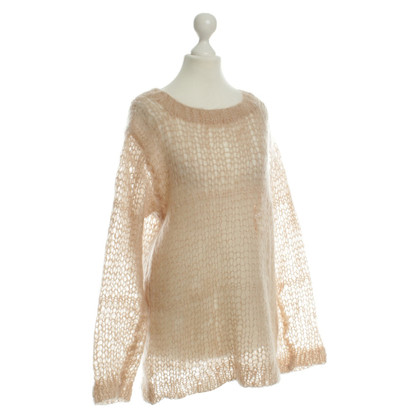 Other Designer WAYNE - knitted top in nude