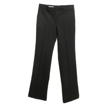 Jil Sander Broek in Anthracite
