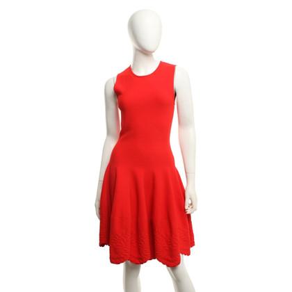 Alexander McQueen Kleid in Rot
