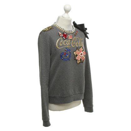 Pinko Sweatshirt with decorative trim