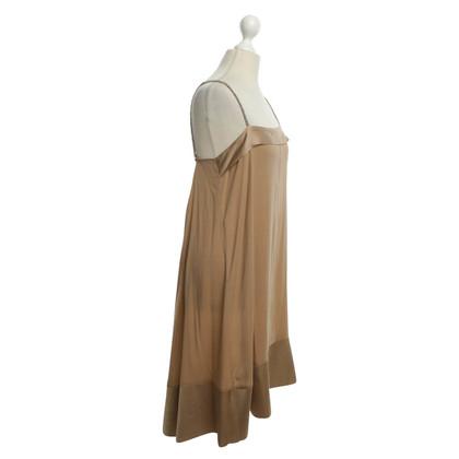 Dorothee Schumacher zijden jurk in nude