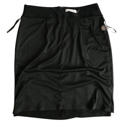 Calvin Klein Black midi skirt
