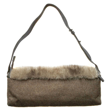 Brunello Cucinelli Bag with mink fur