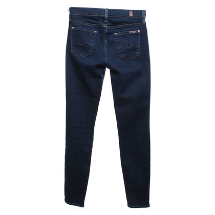 7 For All Mankind Skinny blue jeans