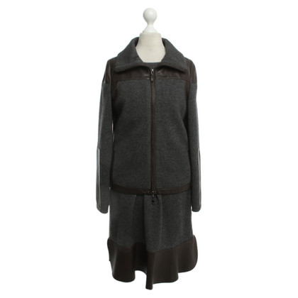 Allude Costume in dark grey brown