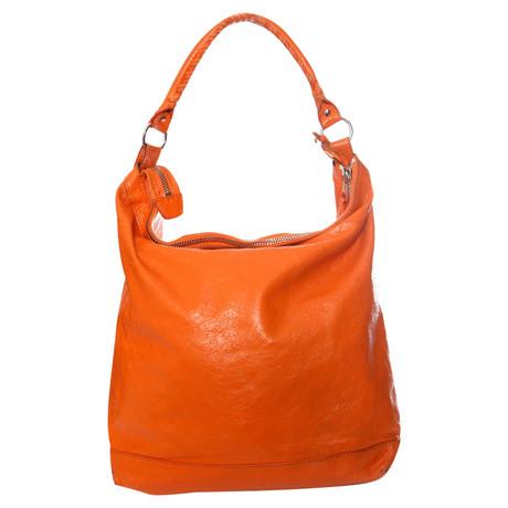 Balenciaga Hobo Bag Orange Erhalten Verkauf Online Kaufen 83PRj2j