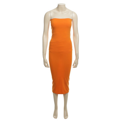 Wolford One Shoulder Dress in Orange