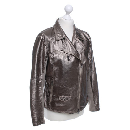 Iris von Arnim Jacket in metallic-look