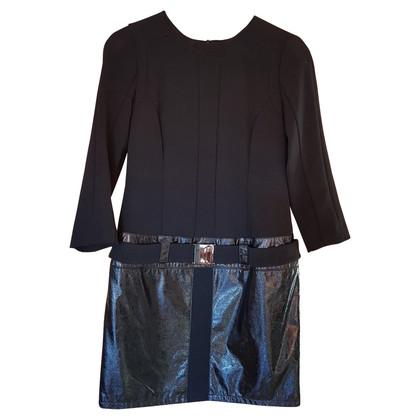 Dolce & Gabbana abito Runway con elemento vernici