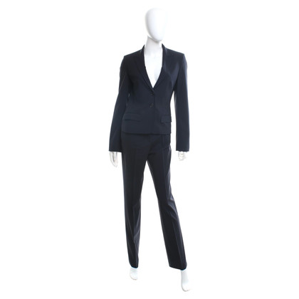 René Lezard Trouser suit in dark blue
