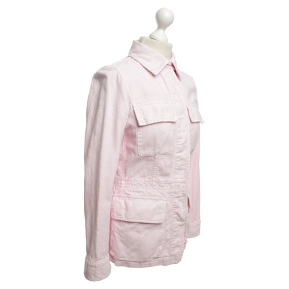 René Lezard Jacket in Pink