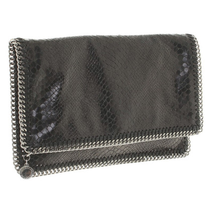 Stella McCartney clutch in black