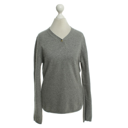 René Lezard Knitted sweater made of cashmere