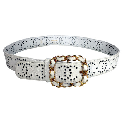 Chanel Belt with perforation