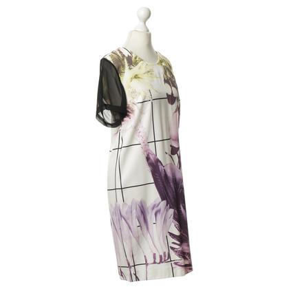 Lala Berlin Silk dress with floral print