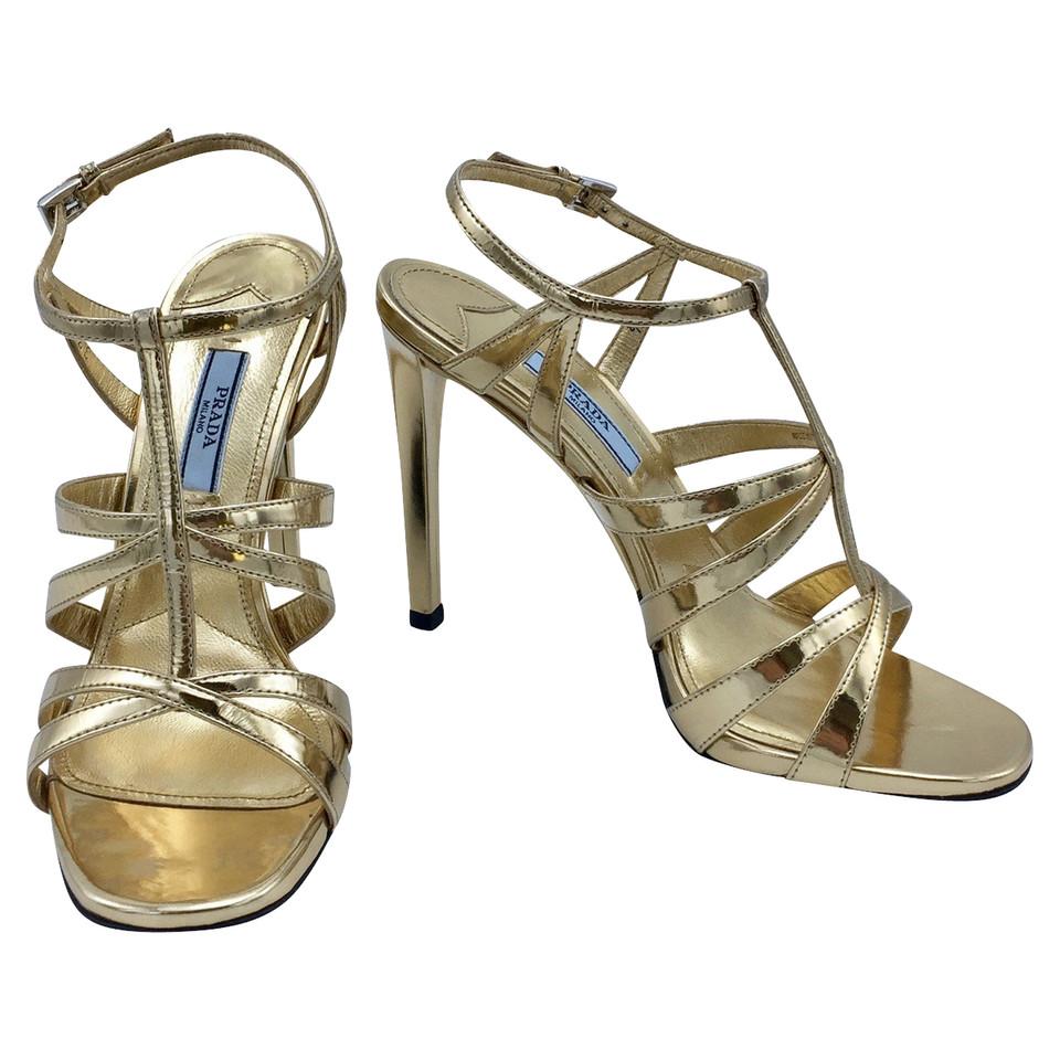 prada sandalen second hand prada sandalen gebraucht kaufen f r 329 00 1964717. Black Bedroom Furniture Sets. Home Design Ideas