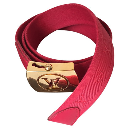 Louis Vuitton Belt Monogram Canvas