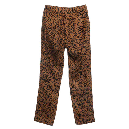 Moschino trousers in leopard pattern