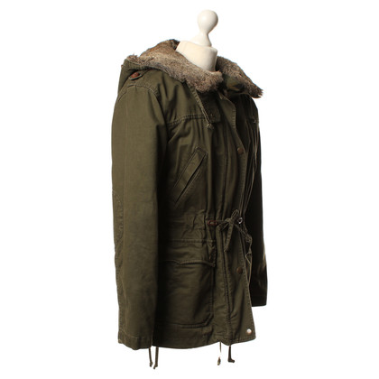 Drykorn Real fur trim parka