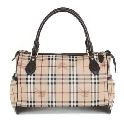 Burberry Shopper mit Schulterriemen