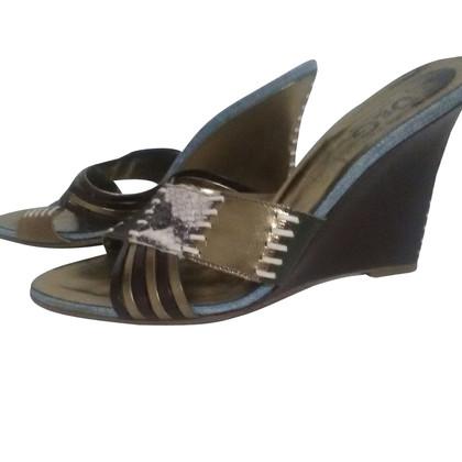 D&G Sandaletten mit Keilabsatz