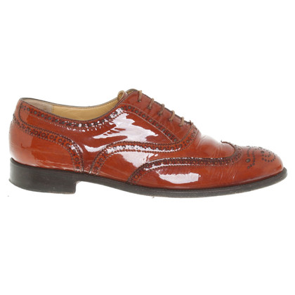 Benson's Patent leather lace-up shoes