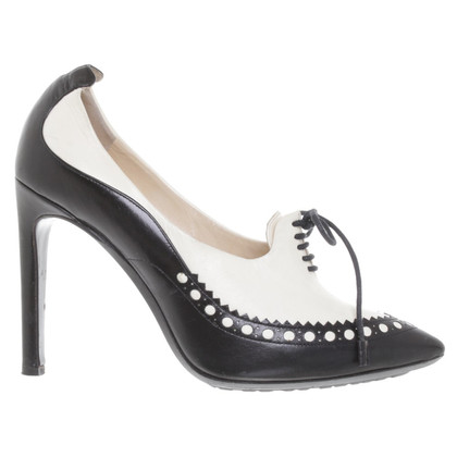 Moschino pumps in bicolor