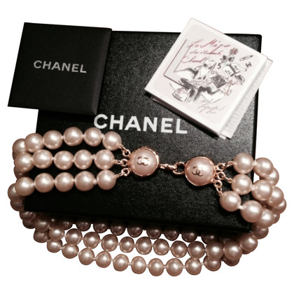 Chanel Three-row Pearl Necklace