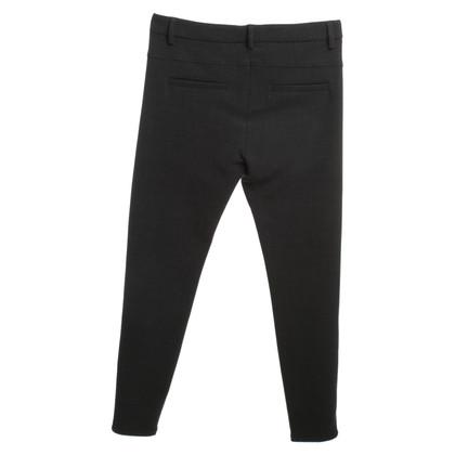 Brunello Cucinelli Pantaloni di cotone grigio