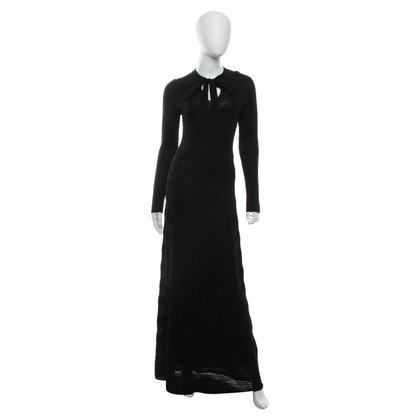 Missoni vestito maglia in nero