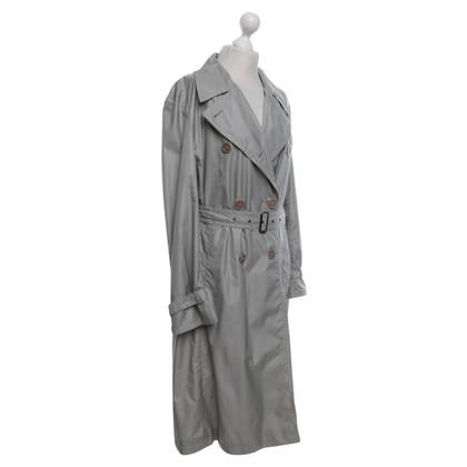René Lezard Trench coat in grey