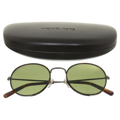 Michael Kors Round metal frame sunglasses