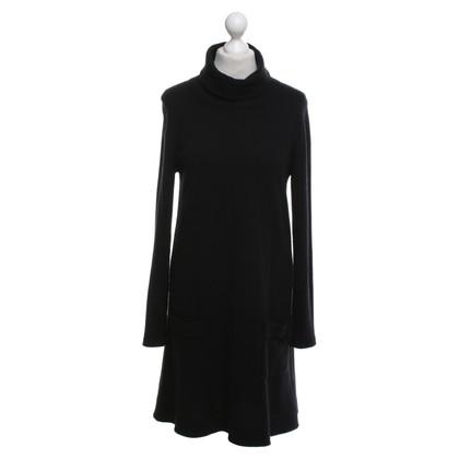 Allude abito cashmere in nero